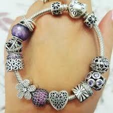 silver charm bracelet with clasp pandora jewelry us