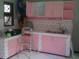 Kitchen Set Kitchen Sets Kitchen Set Finishing Hpl Motif Warna