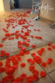 Rose Petals Room Decoration 15 Great Tips To Make It A Memorable Romantic Dinner At Home