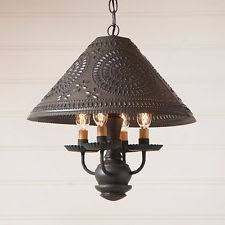 Punched Tin Pendant Light Punched Tin Light Ebay