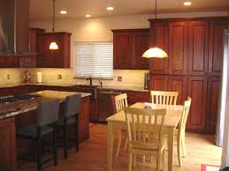 Kitchen Ideas With Cherry Cabinets cherry kitchen cabinets with countertops kitchen ideas