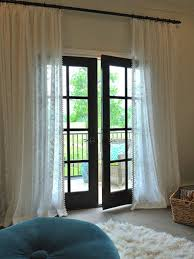 French Door Valances French Door Curtain Ideas For Your Home