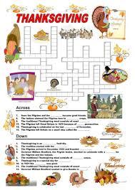 141 free esl thanksgiving worksheets