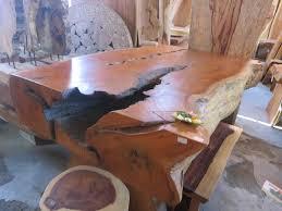 Slab Wood Table wood slab furniture josep homes collection