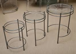 Nesting Tables Ikea by Furniture Nesting End Tables Acrylic Coffee Table Ikea Round