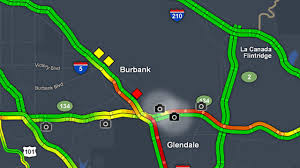 Sigalert Com Los Angeles Traffic Map by Fatal Crash Temporarily Closes Nb 5 Fwy In Glendale Abc7 Com
