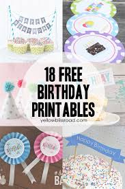 number cake topper 37 birthday printables cakes and a giveaway yellow bliss road