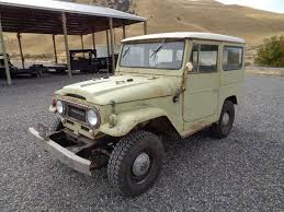 original land cruiser 1967 toyota land cruiser fj40 1 owner original paint used toyota