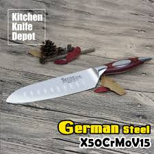 Carbon Kitchen Knives by Aliexpress Com Buy Sedge 7 5 Inch Santoku Knife Kitchen Blade