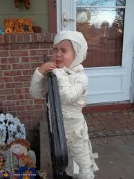 Mummy Halloween Costume Crying Mummy Costume