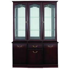 Mahogany Display Cabinets With Glass Doors by Display Cabinet With Glass Doors Ideaforgestudios