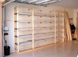 Woodworking Projects Garage Storage by Best 25 Garage Shelving Plans Ideas On Pinterest Building
