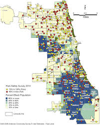 Chicago Race Map by Playground Safety And Quality In Chicago Articles Pediatrics