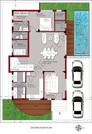 unusual house floor plans bedroom ground floor plan unusual house for sq yards plot size