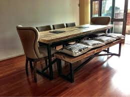 bench style dining room tables dining table farm style dining room table with bench picnic