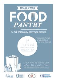 warrior food pantry california state university stanislaus