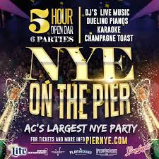 new years events in nj new year s in atlantic city at the pier tickets atlantic