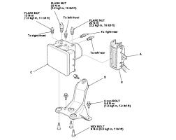 vsa light honda accord 2009 repair guides anti lock brake system abs vsa modulator control