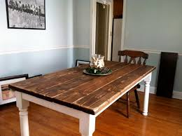 How To Build A Vintage Style Dining Room Table Yourself DECOR - Build dining room table