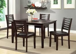 Dining Table Set Espresso Broadway Furniture Amador I Espresso 5 Pc Dining Table Set