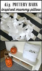 Halloween Mummy Crafts by Pottery Barn Inspired Halloween Decor