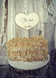 hunting wedding cake topper sign wedding sign hunting themed