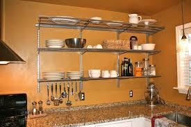 Open Shelf Kitchen Ideas by Cabinets U0026 Drawer Kitchen Open Shelves Ideas Stainless Steel