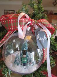 easy snow globe ornament made simple come see hometalk