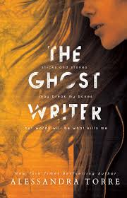 cover reveal the ghostwriter by alessandra torre natasha is a