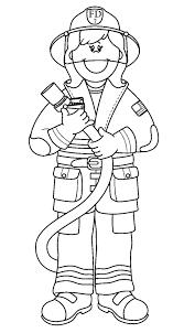 mailman hat coloring page printable fireman coloring pages printable firefighter coloring