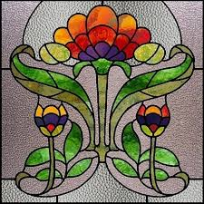 Flower Glass Design 501 Best Stained Glass Flowers Images On Pinterest Stained Glass