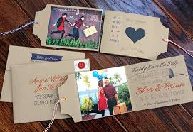 luggage tag save the date fave 13 of 2013 paper paint