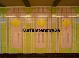 Tile Decoration File Berlin Kurfürstenstraße U1 Tiles Jpg Wikimedia Commons