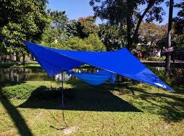 amazon com chill gorilla 12 u0027 pro rain fly blue waterproof tent