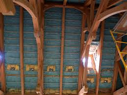 Spray Insulation For Basement Walls Closed Cell Spray Foam Insulation Used In Conditioning The Attic