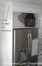 how to build a cabinet around a refrigerator diy refrigerator enclosure how to build a cabinet around