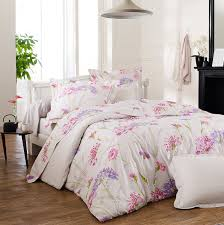 luxury cotton percale bedding set caprice made in france