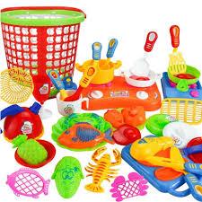 ustensile de cuisine en plastique 35 pcs en plastique enfants enfants cuisine ustensiles cuisine