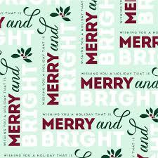merry gift wrap haute papier