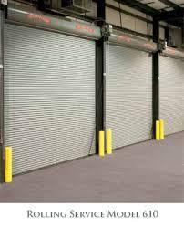 Overhead Door Model 610 Rolling Service Doors For Alaska Commercial Buildings And Facilities