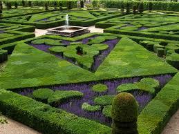 file french formal garden in loire valley jpg wikimedia commons