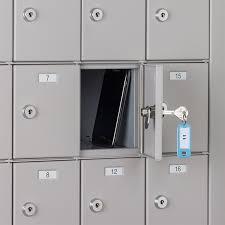 Precision Filing Cabinet Squadronâ Cell Phone Locker 16 Doors Precision Locker Company