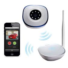 remote garage door openers asante garage door opener with camera kit remotely open and close