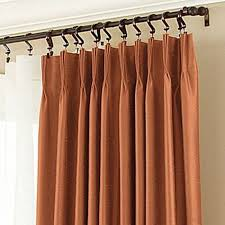 how to hang pencil pleat curtains with hooks pinch pleat curtains for sliding glass doors