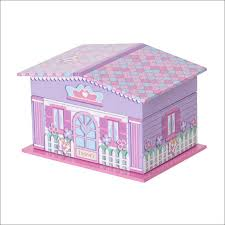 childrens jewelry box velvet accessory box decoupage clear picture frame metallic
