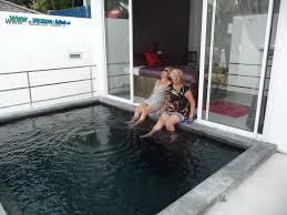 chambre avec piscine priv maison louée avec piscine privée devant la chambre sur koh samui en
