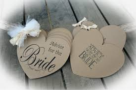 bridal guest book rustic bridal shower advice for the guest book