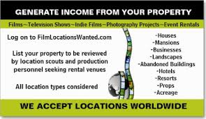 Seeking Filming Location Photos For Locations Wanted