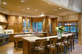 Gourmet Kitchen Design by Wondrous Design Ideas House Plans With Large Gourmet Kitchens 10