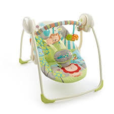 portable baby swing with lights amazon com bright starts portable swing up up away stationary